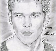 Joseph Morgan fan print by tvdtumblcon