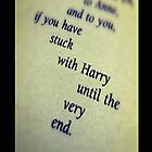 "Harry Potter: ""Stuck with Harry until the very end"" - Iphone Case  by sullat04"