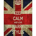 Keep Calm And Love Harry Styles by ViviG