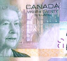 Canadian $20 by ©The Creative  Minds