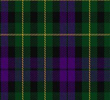 00621 Abercrombie (Wilsons 2-64) Clan/Family Tartan Fabric Print Iphone Case by Detnecs2013