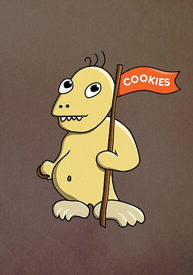 Funny Cookie Monster by Boriana Giormova