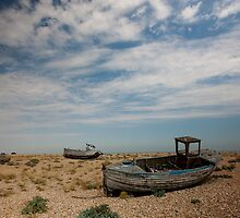 Dungeness Boats by Dawn OConnor