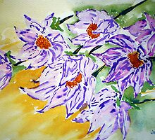 purple profusion by jyoti kumar