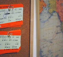 Tickets and Map by VisualSpices