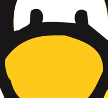The Yellow Penguin Sticker