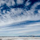 Colorado Clouds and Deep Blue by Greg Summers