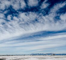 Colorado Clouds and Deep Blue by Gregory J Summers