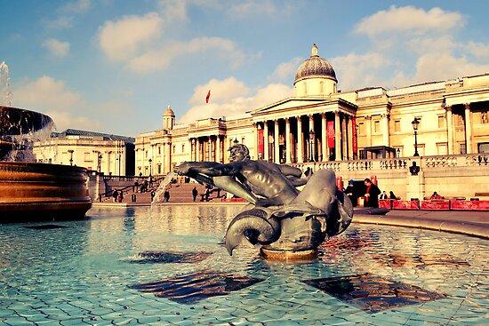 Trafalgar Square, London by NicholaNR