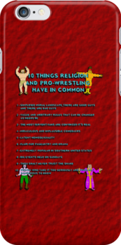 10 Things Religion and Pro-Wrestling Have In Common by Barton Keyes