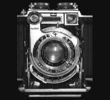 Vintage Camera Digital Line Art by midniteoil