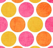 summer polka dots by beverlylefevre