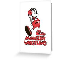 Mangler Willie Greeting Card