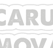 Icarus Removals inverted Sticker
