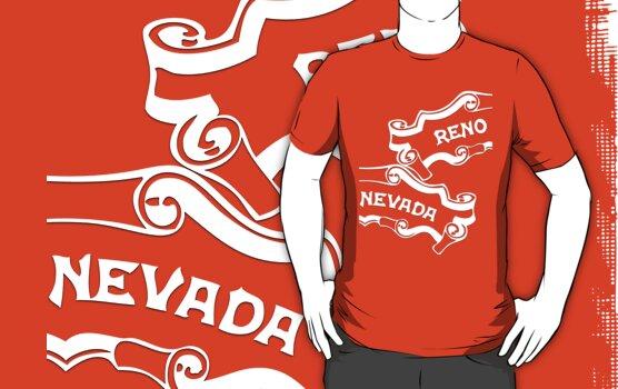 Reno Nevada (split familiar logo) by Steve Hryniuk