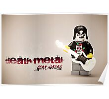 Death Metal Die-Hard Poster