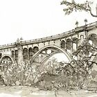 Colorado Street Bridge, Pasadena CA  by russhobbs