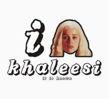khaleesi tee by natefiala