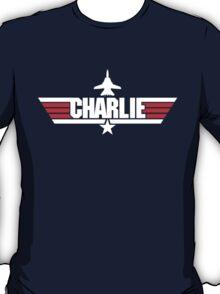 Custom Top Gun Style - Charlie T-Shirt