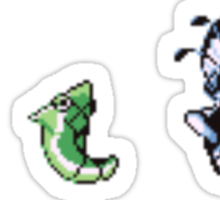 Caterpie evolutions Sticker