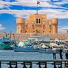 Fort Qaitbay Alexandria by bulljup