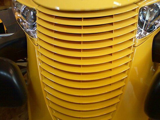 Yellow Grill by James Brotherton