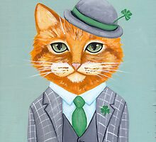 Tiarnan the Tabby Cat by Ryan Conners