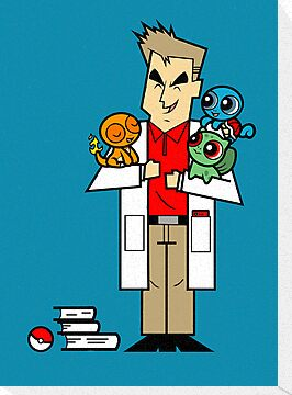 The Professor and His Starters by sponzar