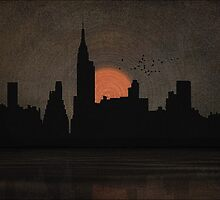 NEW YORK CITY SKYLINE by TOM YORK