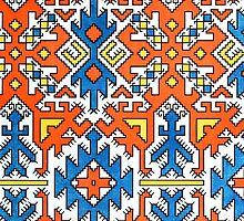 Native Embroidery Pattern 1 by RedPine