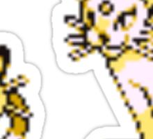 Meowth evolution  Sticker