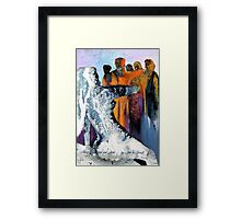 Mary Magdelin and Jesus Framed Print