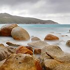 Waterloo Bay Rocks, Wilsons Promontory, Victoria, Australia by Michael Boniwell