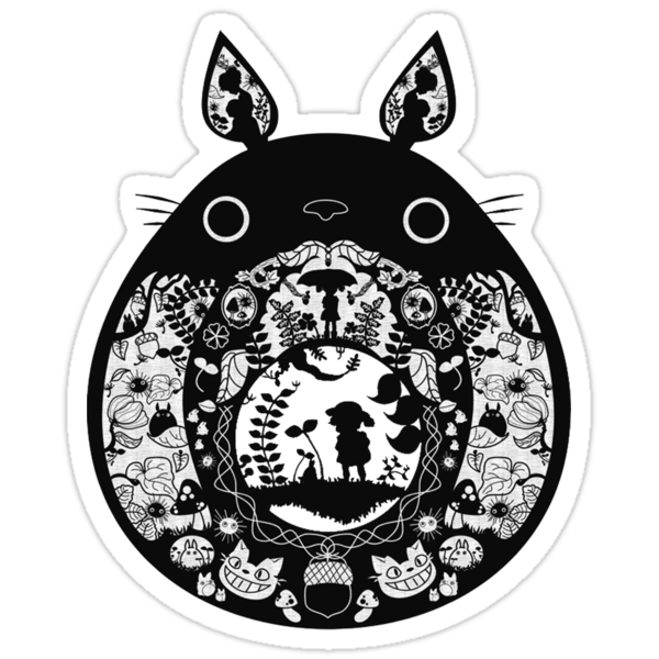 【18400+ views】Totoro by Ruo7in