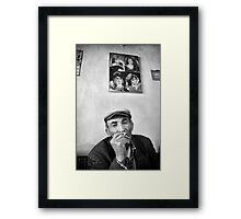 Old Man and His Dreams Framed Print
