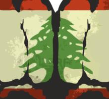 Lebanon! Sticker