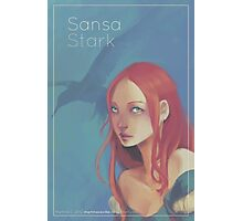 Sansa - Girls in Westeros Photographic Print