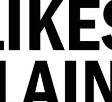 LIKES KLAINE BTW shirt Glee Sticker