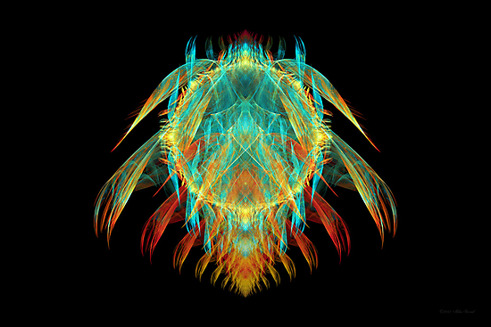 Fractal - Insect - I found it in my cereal by Mike  Savad