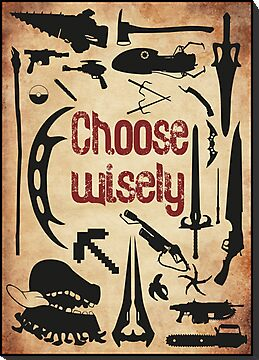 Geek weapons - Choose wisely! by Gumley