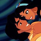 Aladdin and Jasmine by shoshgoodman