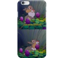 thumper loves his blossoms iPhone Case/Skin