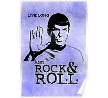 Rock Spock Poster