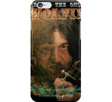 Wolfie Poster iPhone Case/Skin