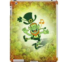 Irish Leprechaun Dancing and Singing iPad Case/Skin