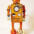 Robo Just Wants To Be Loved. by Kyran and Lyndsay Weir