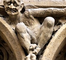 Notre Dame bestiary in Paris, France by vribeiro