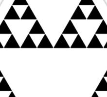 Sierpinski Triangle Sticker