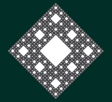 Sierpinski Carpet by cadellin