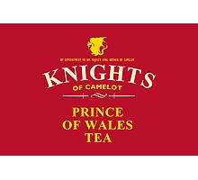 KNIGHTS Of Camelot Tea (yellow) Photographic Print